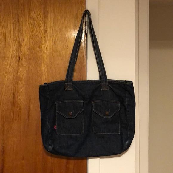 389e002ee Levi's Bags | Levis Denim Tote Bag | Poshmark